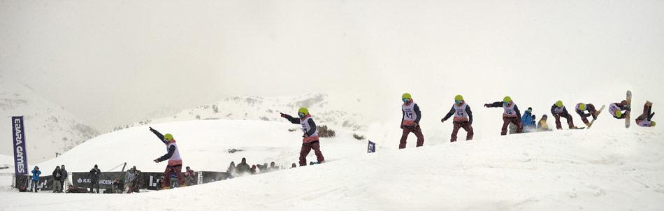 Ebara Games - Dizin ski resort