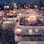 The rain in Tehran - Facebook Cover