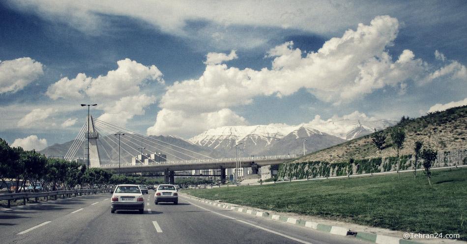 Tehran, Chamran Highway (Parkway)