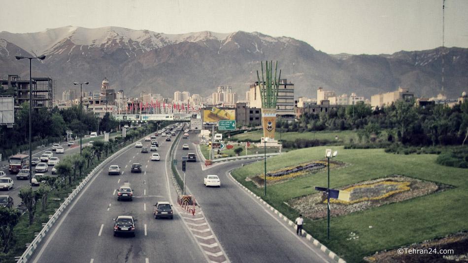 Tehran, Modares Highway