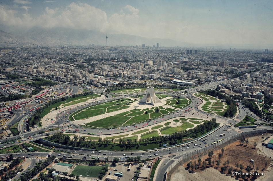 Tehran, Azadi Sq.